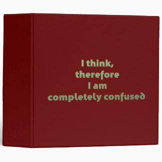 """Pienso, por lo tanto soy totalmente confuso carpeta 2"""""""