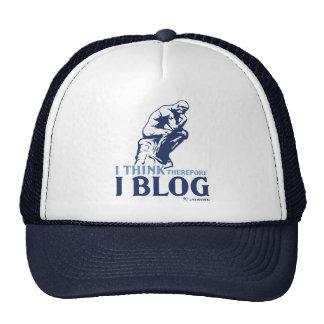 Pienso, por lo tanto yo blog gorro
