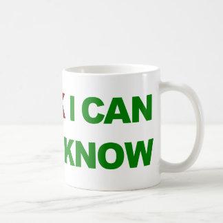 Pienso puedo, yo sé que puedo tazas