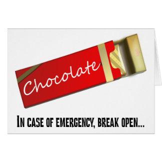 Pienso que esto califica como emergencia del tarjeta pequeña