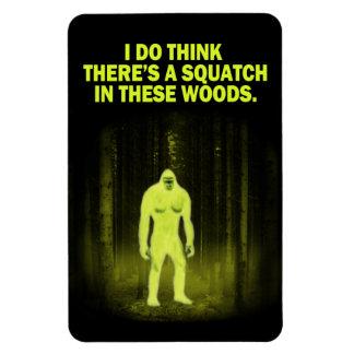 Pienso que hay un Squatch en imán de estas maderas