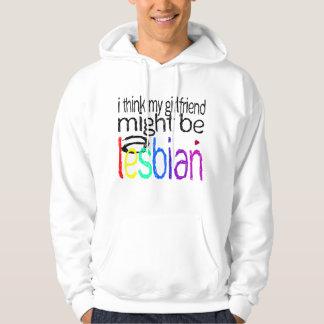 Pienso que mi novia pudo ser una lesbiana jersey encapuchado