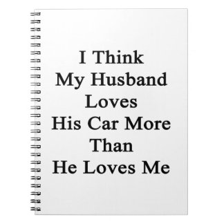 Pienso que mis amores del marido que su coche más spiral notebooks