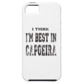 Pienso que soy el mejor de Capoeira iPhone 5 Funda