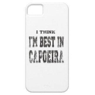 Pienso que soy el mejor de Capoeira iPhone 5 Carcasa