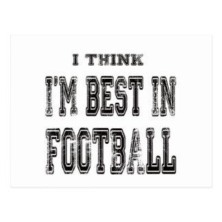 Pienso que soy el mejor de fútbol postal