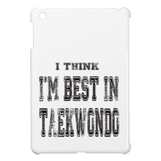 Pienso que soy el mejor del Taekwondo