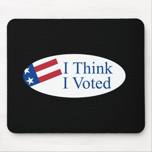 Pienso que voté tapete de ratones