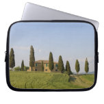 Pienza, Val d'Orcia, Siena province, Tuscany, Laptop Computer Sleeves