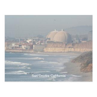 pier 068, San Onofre California Postcard