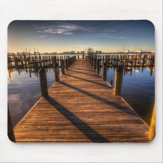 pier-349672 PHOTOGRAPHY SCENERY pier, harbor, walk Mouse Pads