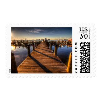 pier-349672 PHOTOGRAPHY SCENERY pier, harbor, walk Postage