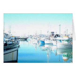 Pier 39 - Fisherman's Wharf Greeting Card