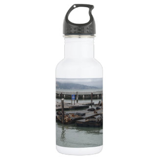 Pier 39 of San Francisco Stainless Steel Water Bottle