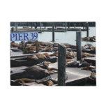 Pier 39 Sea Lions in San Francisco Doormat