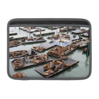 Pier 39 Sea Lions in San Francisco Sleeve For MacBook Air