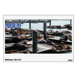 Pier 39 Sea Lions in San Francisco Wall Decal