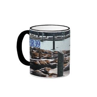 Pier 39 Sea Lions Mug