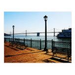 Pier 7 Bayscape Postcard