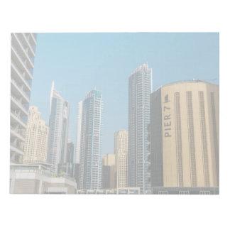 Pier 7, Dubai Marina Note Pad