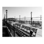 Pier 7 Monochrome Postcard