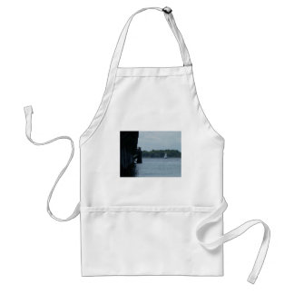 Pier and Sailboat Apron