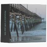 Pier and Waves - Oak Island, NC Binder