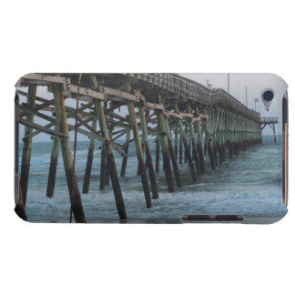 Pier and Waves - Oak Island, North Carolina Barely There iPod Case