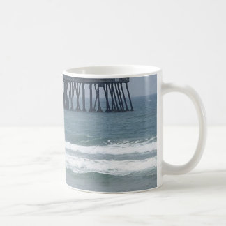 Pier At Imperial Beach Classic White Coffee Mug