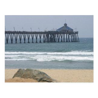 Pier At Imperial Beach Postcard