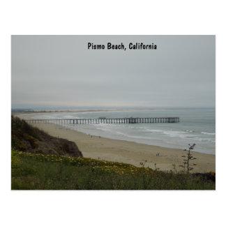 Pier at Pismo Beach, California Postcard