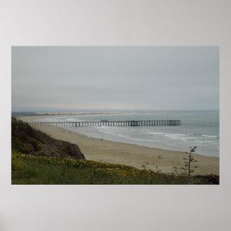Pier at Pismo Beach, California Posters