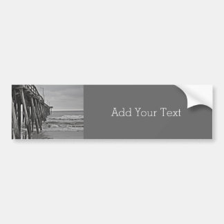 Pier by Shirley Taylor Bumper Sticker