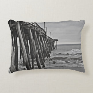 Pier by Shirley Taylor Decorative Pillow