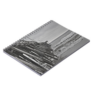 Pier by Shirley Taylor Notebook