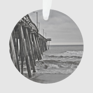 Pier by Shirley Taylor Ornament
