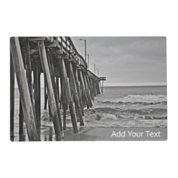 Beach Themed Pier by Shirley Taylor Placemat