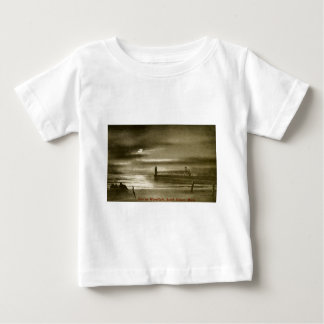 Pier by the Moonlight, South Haven, Michigan Baby T-Shirt