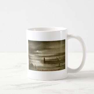 Pier by the Moonlight, South Haven, Michigan Classic White Coffee Mug