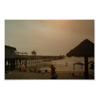 Pier In San Clemente California Posters