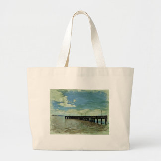 Pier Large Tote Bag