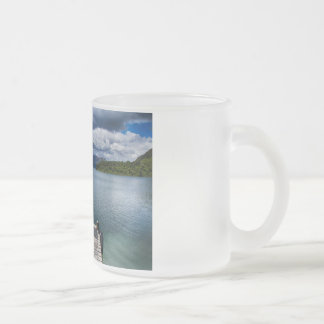 Pier 10 Oz Frosted Glass Coffee Mug