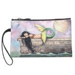 Pier of Dreams Mermaid Mini Clutch Bag Wristlet Purse