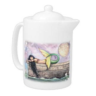 Pier of Dreams Sleeping Mermaid Teapot