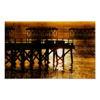 Pier Of The Pacific Northwest Docks Poster