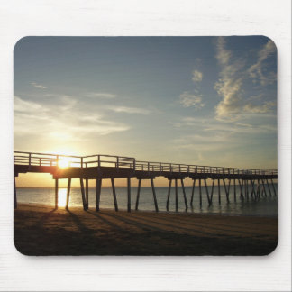 Pier on the Bay Mouse Pad