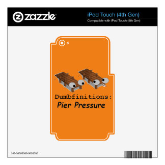 Pier Pressure Decal For iPod Touch 4G