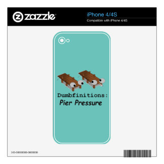 Pier Pressure Decals For The iPhone 4