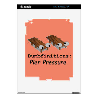 Pier Pressure Skin For The iPad 2