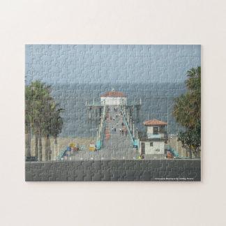 Pier Scene Puzzel Jigsaw Puzzles